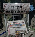 The New Age Newspaper stand at Cape Town Airport.jpg