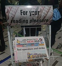 The New Age (South African newspaper) - Wikipedia