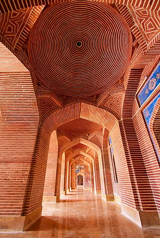 Shah Jahan Mosque, Thatta - Image: The Other Portion of Beautiful Shah Jahan Mosque