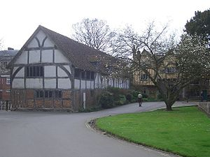 English: The Pilgrims' School, Winchester. One...