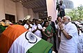 The Prime Minister, Shri Narendra Modi pays tributes to the mortal remains of Ms. J. Jayalalithaa, in Chennai on December 06, 2016 2.jpg