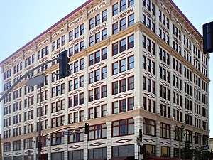 Main Street (Los Angeles) - The San Fernando Building on Main St.