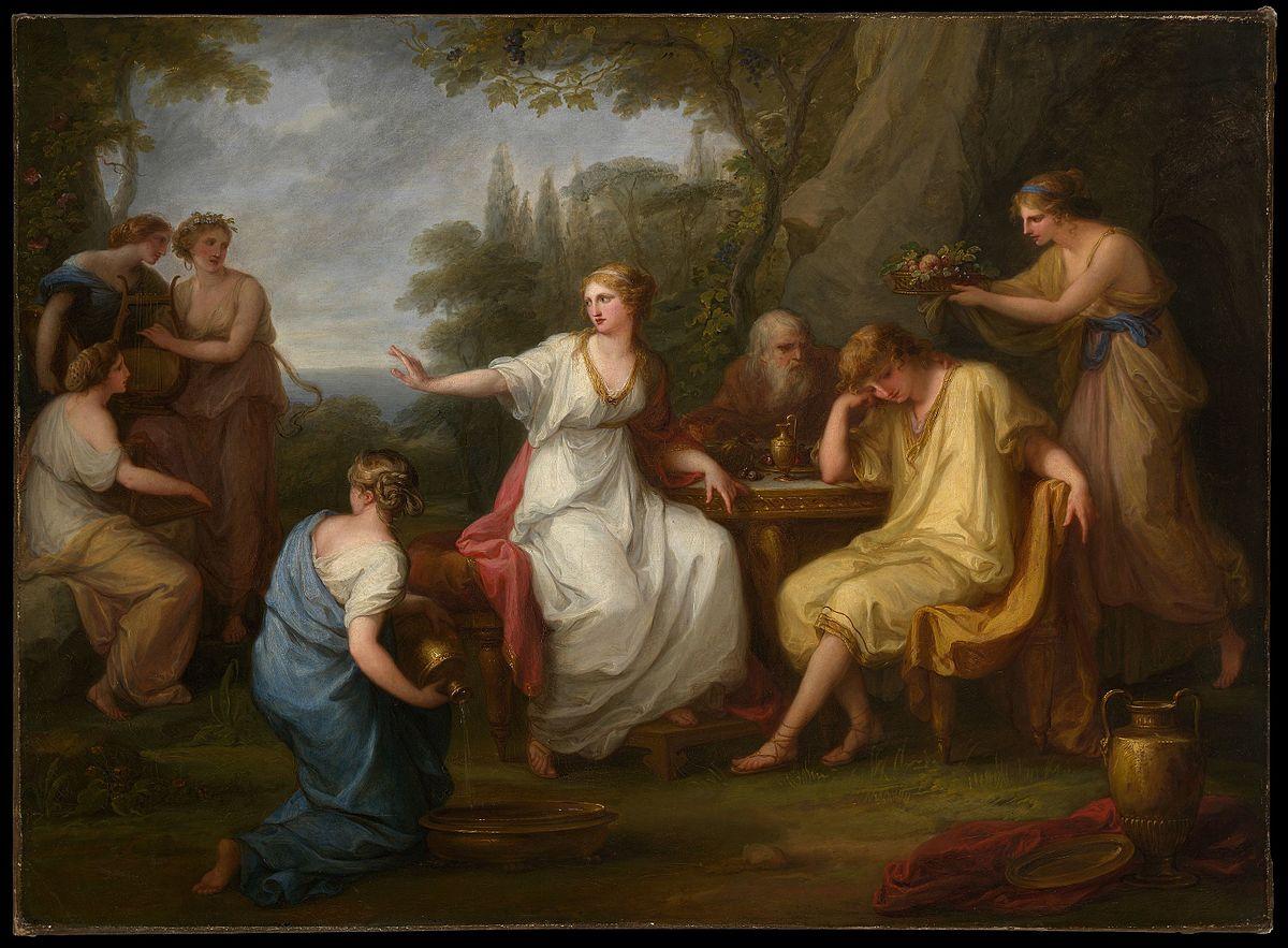 The Sorrow Of Telemachus Wikipedia