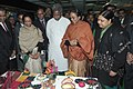 The Speaker, Lok Sabha, Smt. Meira Kumar visiting the workshop-cum-exhibition, organised by Parliamentary Forum on Artisans and Craftspeople in association with the Ministry of Textiles.jpg