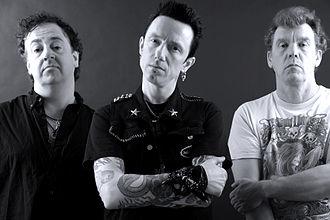 The Vibrators - Current line-up. L to R Nigel, Pete, Eddie.