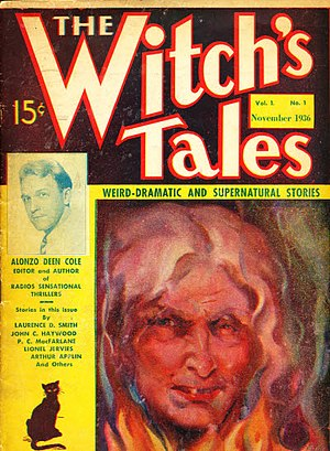 The Witch's Tales - Image: The Witch's Tales November 1936