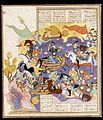 The battle between kusrau parvis and Bhram Chubineh.jpg