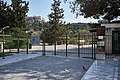 The entrance to the archaeological site of the Ancient Agora on March 20, 2020.jpg