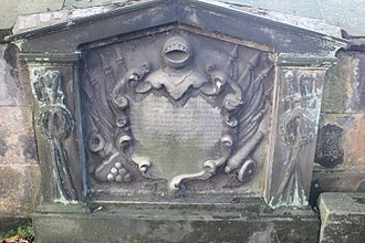 Sir Archibald Campbell, 1st Baronet - The grave of Gen Sir Archibald Campbell, St Johns, Edinburgh