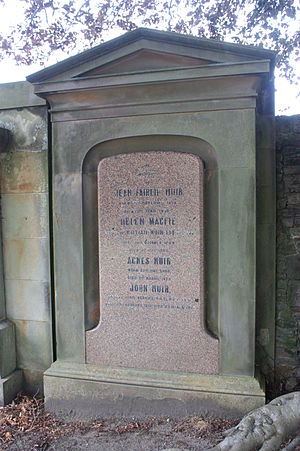 John Muir (indologist) - The grave of John Muir, Grange Cemetery, Edinburgh