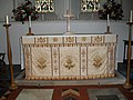 The main altar at St Peter and St Paul, West Wittering - geograph.org.uk - 1635568.jpg