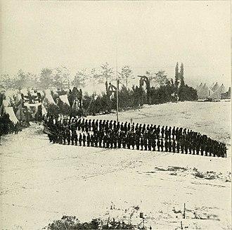 2nd Maine Volunteer Infantry Regiment - 2nd Maine Infantry at Camp Jameson, 1861
