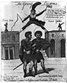 The theatrical Caesar! or Cassius and Casca, in debate LCCN2006682908.jpg