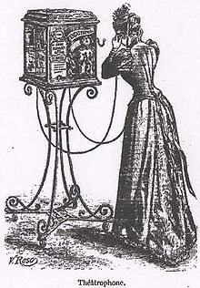 A theaterphone, 1892.