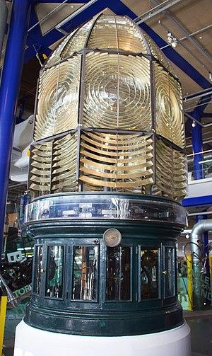 Longstone Lighthouse - The optic at Thinktank, Birmingham Science Museum