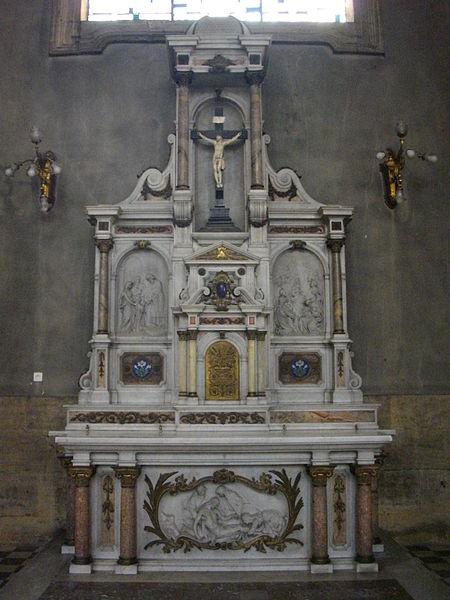 Saint Maximin church of Thionville (Moselle, France). Secondary altar