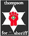 Thompson for 1970 Aspen, Colorado Sheriff poster.jpg
