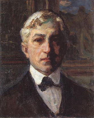János Thorma - Self-portrait, ca. 1910