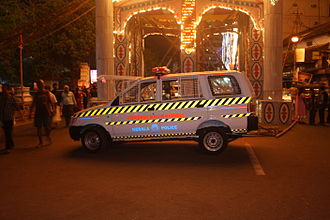 Patrol Vehicle of Thrissur City Police in Swaraj Round Thrissur City Police111.JPG