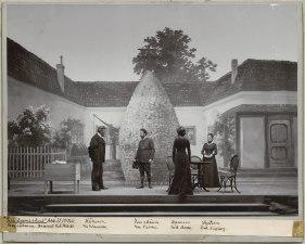 Till Damaskus, Dramatiska teatern 1900. Föreställningsbild - SMV - H15 017.tif