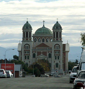 Timaru - Sacred Heart Church (Timaru Basilica)