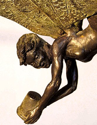 Tinker Bell - Tinker Bell (2005, bronze) by Diarmuid Byron O'Connor