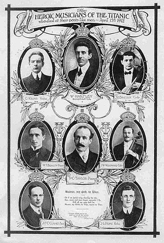 Musicians of the RMS Titanic - Members of the Titanic orchestra