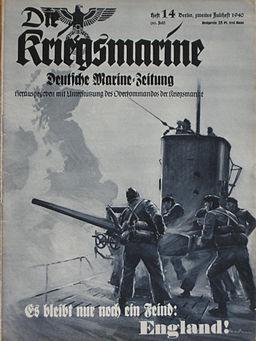 Titelblatt Kriegsmarine Heft 14-1940