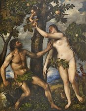 Por Tiziano, Museu do Prado, Madrid (1550).