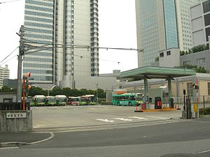 Toei Bus Shibuya Office Shinjuku branch.jpg