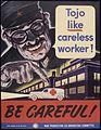 Tojo like careless worker^ Be careful^ - NARA - 535307.jpg