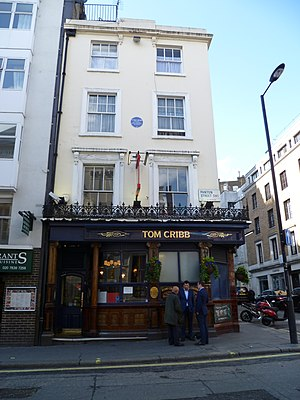 Tom Cribb - The Tom Cribb pub, London