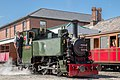 Tom Rolt shunts in Tywyn Wharf (20254143244).jpg