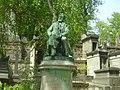 Tomb - memorial of Edmond About, Paris, dim2011.jpg