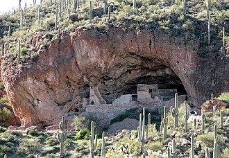Tonto National Monument - Lower Cliff Dwelling