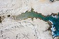 Top down aerial of Sarakiniko Beach on Milos Island, Greece.jpg
