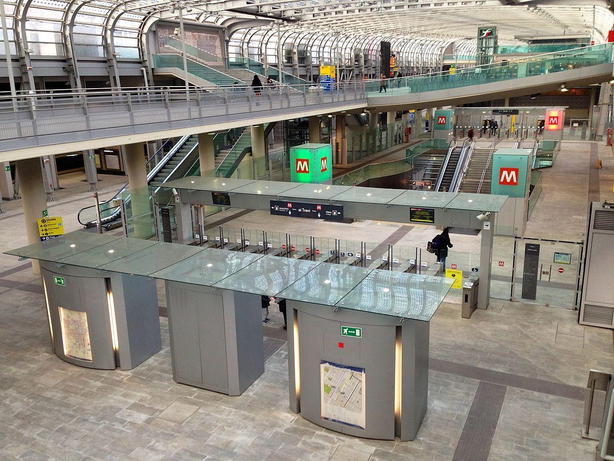 Porta susa metropolitana di torino wikipedia - Gtt torino porta nuova ...