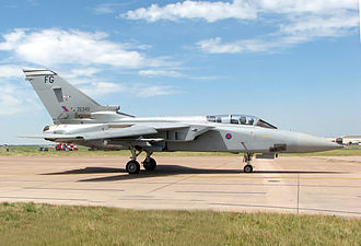 Operation Granby - Royal Air Force Tornado F3, an aircraft used by the RAF in the Gulf War.