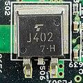 Toshiba Satellite 220CS - power supply and interface board - Toshiba J402-4745.jpg