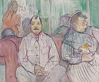 Toulouse-Lautrec - MONSIEUR, MADAME ET LE CHIEN, 1893, MTL.158.jpg