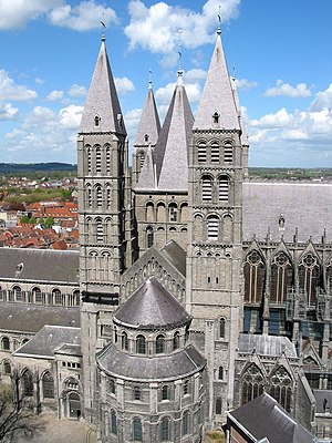1170s in architecture - Image: Tournai JPG006