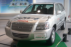 Toyota FCHV - Toyota FCHV-4 SUV circa 2007.