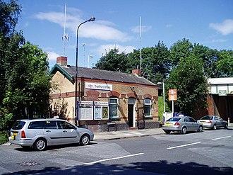 Trafford Park railway station - Station building