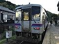 Train for Nagatoshi Station at Tamae Station.jpg