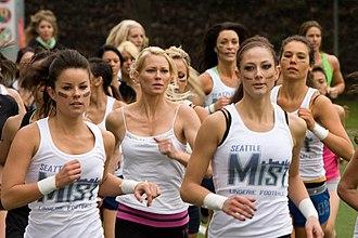 Seattle Mist - Image: Training of Seattle Mist Lingerie Football 0101