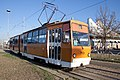 Tram in Sofia in front of Central Railway Station 2012 PD 063.jpg
