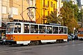Tram in Sofia mear Macedonia place 2012 PD 035.jpg