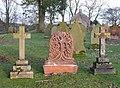 Tree-shaped memorial, Brampton - geograph.org.uk - 1147714.jpg