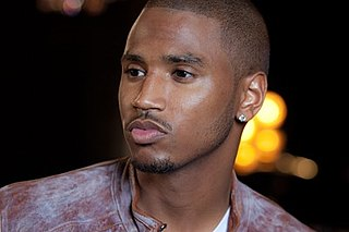 Trey Songz American singer, songwriter, rapper and actor