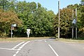 Triangle road junction at the top of Butt Hill - geograph.org.uk - 1496125.jpg